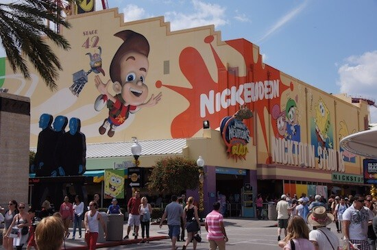 Jimmy Neutron Nicktoon ride