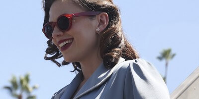 HAYLEY ATWELL Marvel Agent Carter