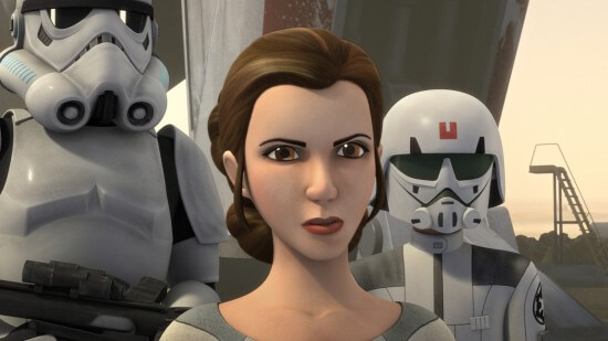 Star Wars Rebels Princess Leia