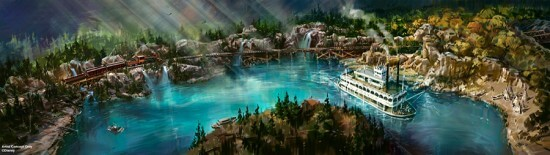 Disneyland Star Wars Rivers of America