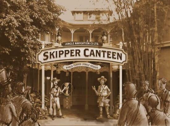 New Jungle Navigation Co., Ltd. Skipper Canteen at Magic Kingdom Park
