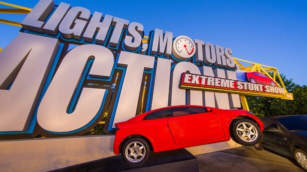 The Lights, Motors, Action! Extreme Stunt Show