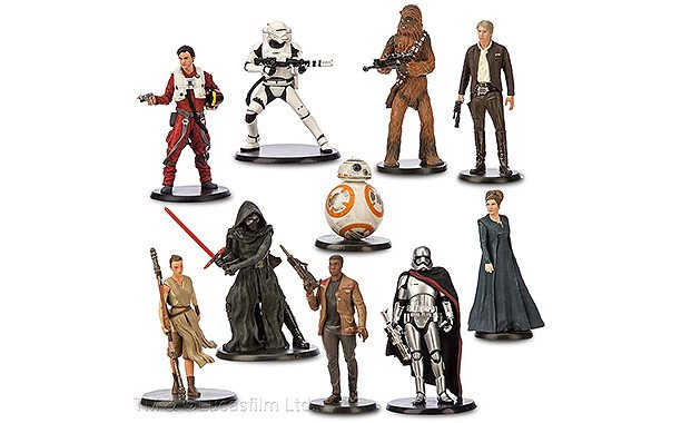 Star Wars Characters Toys : Rey han solo featured in next wave of quot star wars the
