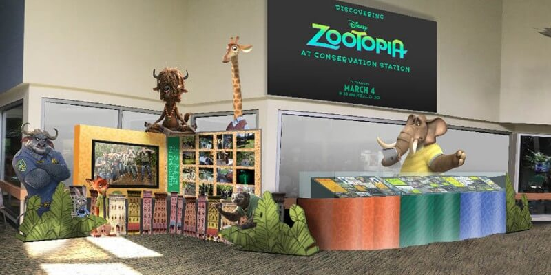 zootopia exhibit disney animal kingdom