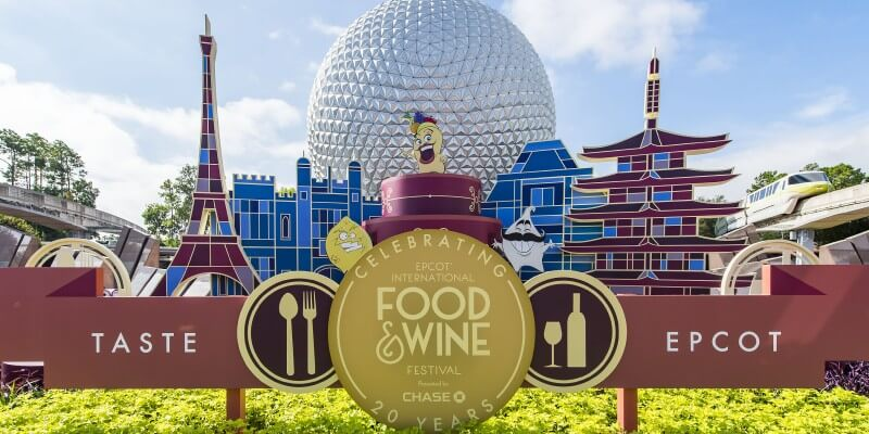 Chase lounge returns to epcot international food wine for Chaise lounge at epcot food and wine