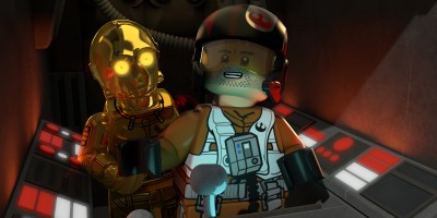 LEGO STAR WARS: THE RESISTANCE RISES C-3PO, POE DAMERON