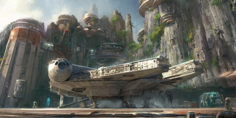 Star Wars Land Disneyland Walt Disney World