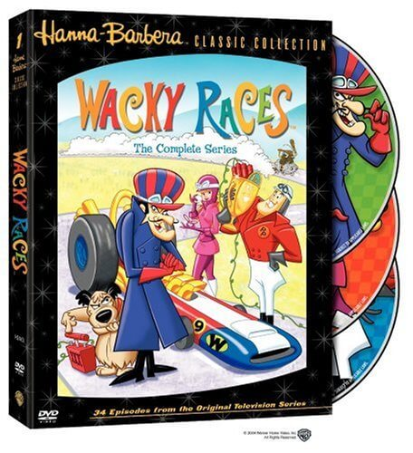 DVD cover Wacky Races