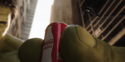 COKE MINI ANT MAN HULK