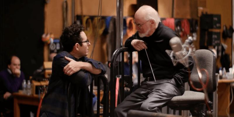 John Williams JJ Abrams Star Wars Force Awakens