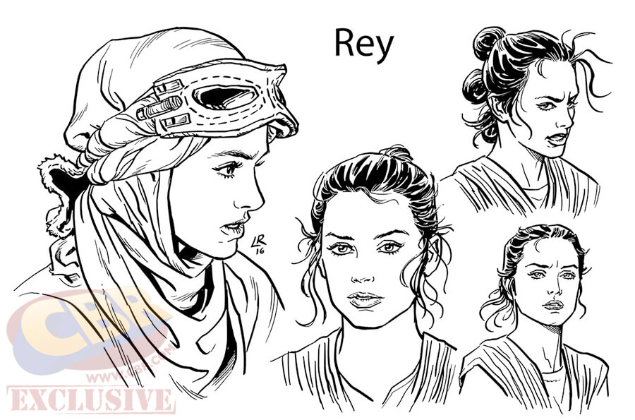 Force Character Design From Life Drawing Ebook : Marvel to release quot star wars the force awakens comic