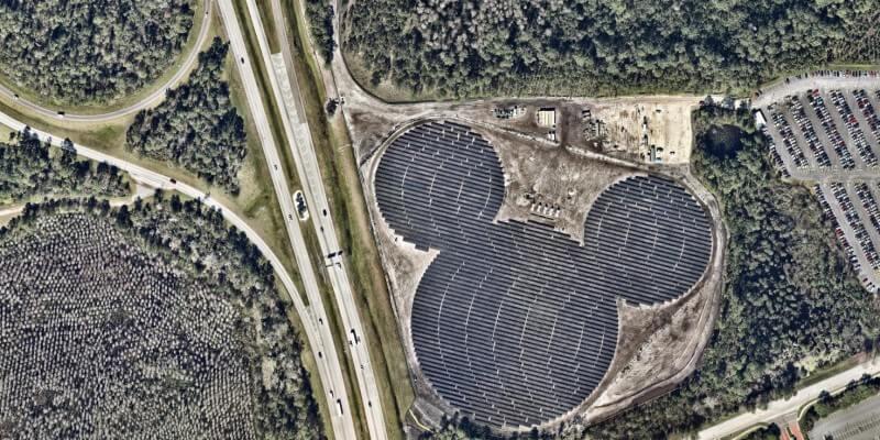 Hidden Mickey Solar Farm