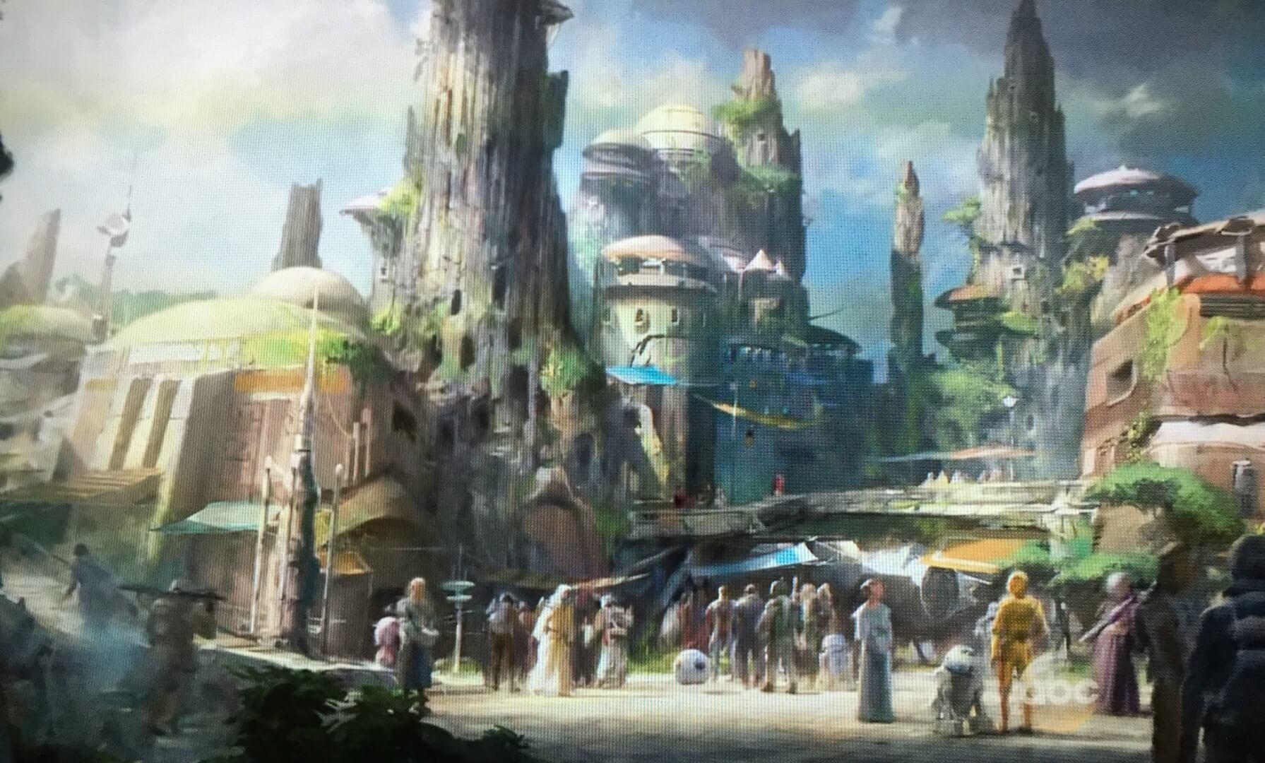 Star Wars land Disneyland Resort -new 2019- Star-Wars-Land-1