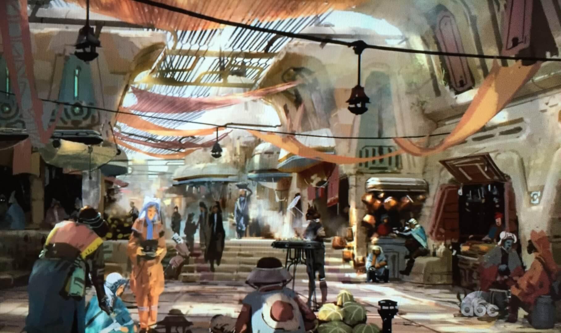 Image result for star wars land concept