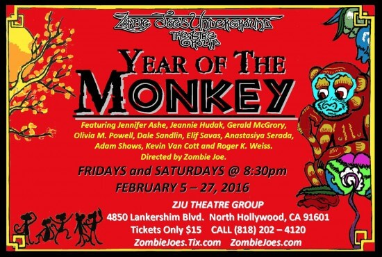 Year Of The Monkey @ZJU_Postcard-New