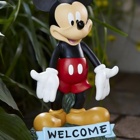 Disney Garden Statue Collection From Kmart Inside The Magic
