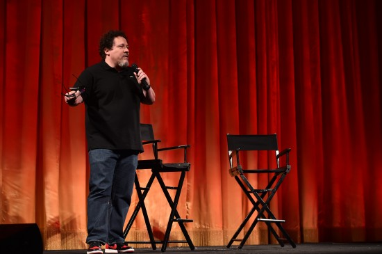 THE JUNGLE BOOK - Director Jon Favreau presents a sneak peek from Disney's THE JUNGLE BOOK to select press on January 13, 2016 at The El Capitan Theater in Hollywood, CA. Photo by Alberto Rodriguez/Getty Images. ©2016 Disney. All Rights Reserved.