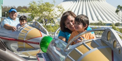 Fun with Little Ones on Astro Orbitor