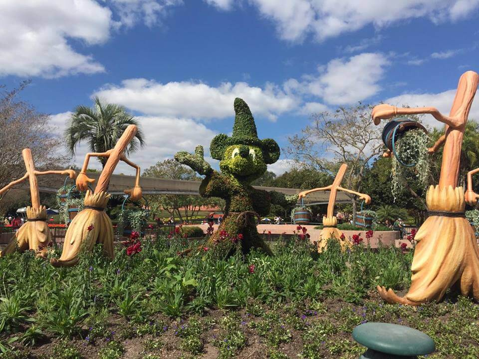 Eight Disney topiaries not to miss at the 2016 Epcot International