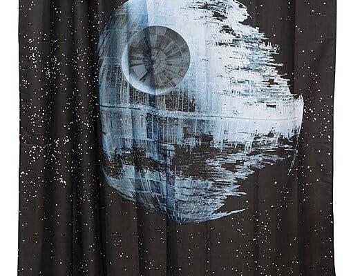 New Star Wars Death Star Shower Curtain From Think Geek