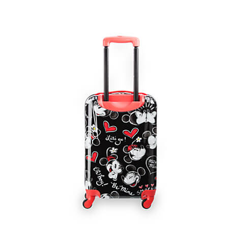 New Mickey and Minnie Mouse rolling luggage from Disney Store ...