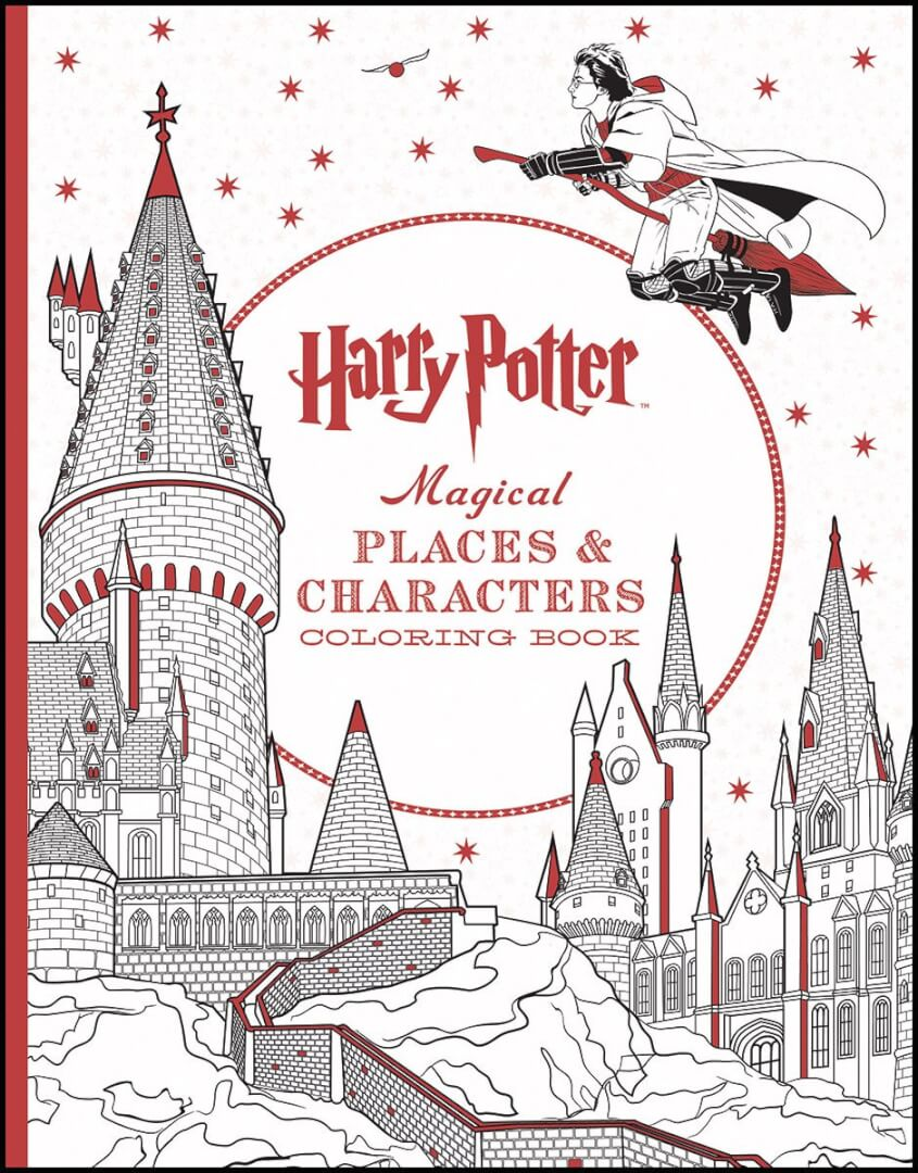 just released new harry potter magical places u0026 characters