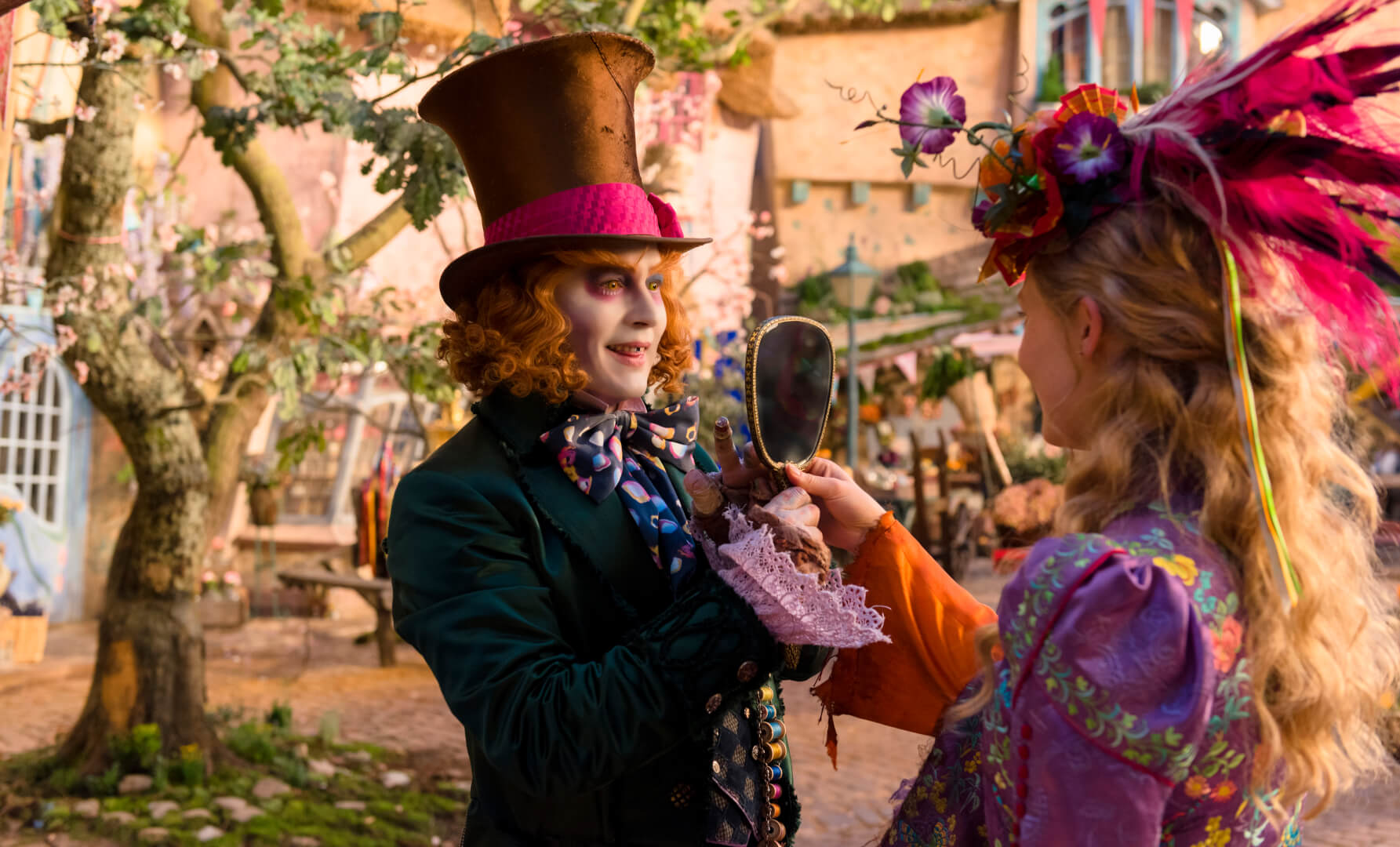 "Citaten Uit Alice In Wonderland : Video johnny depp talks mad hatter insanity in ""alice"