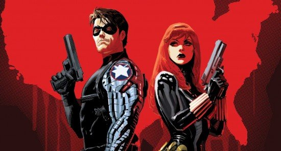 Black Widow Winter Soldier