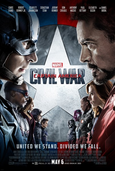 CAPTAIN AMERICA 1-Sheet Faceoff