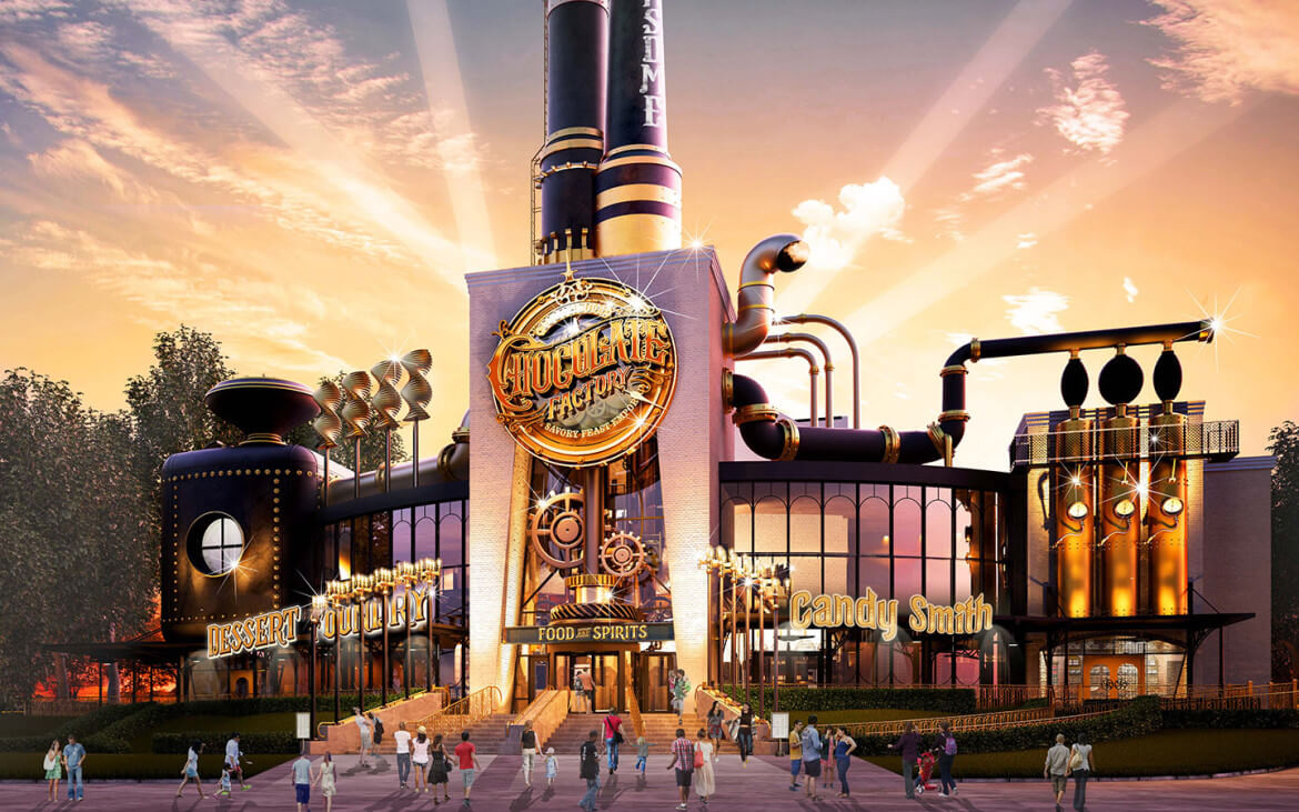 Toothsome Chocolate Factory to offer delicious treats at Universal ...