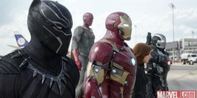 Iron Man's team in Civil War