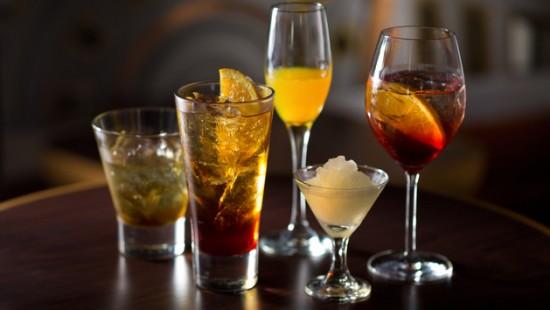 Nomad Lounge drinks