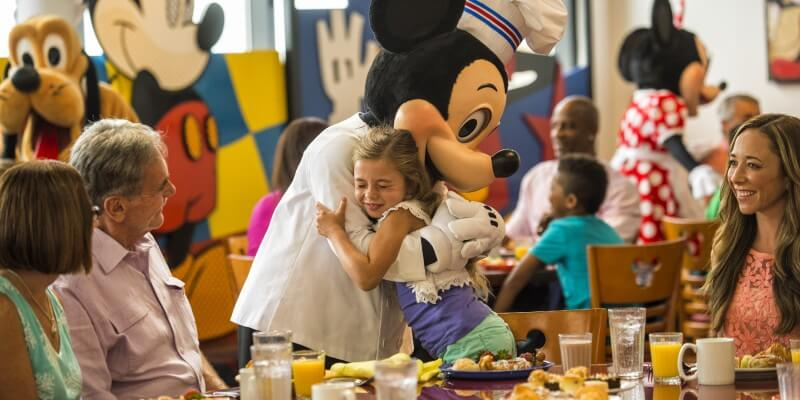 Chef Mickey at Disney's Contemporary Resort