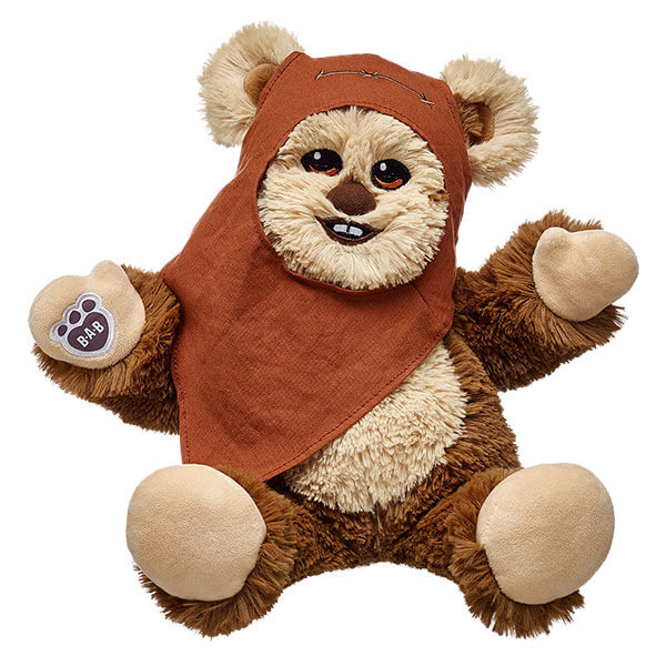 Build A Bear Introduces New Star Wars Wicket The Ewok Bear