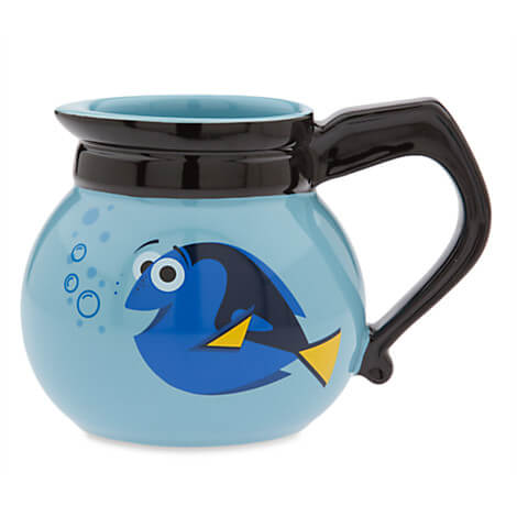 New Finding Dory Mug Collection From Disney Store Inside