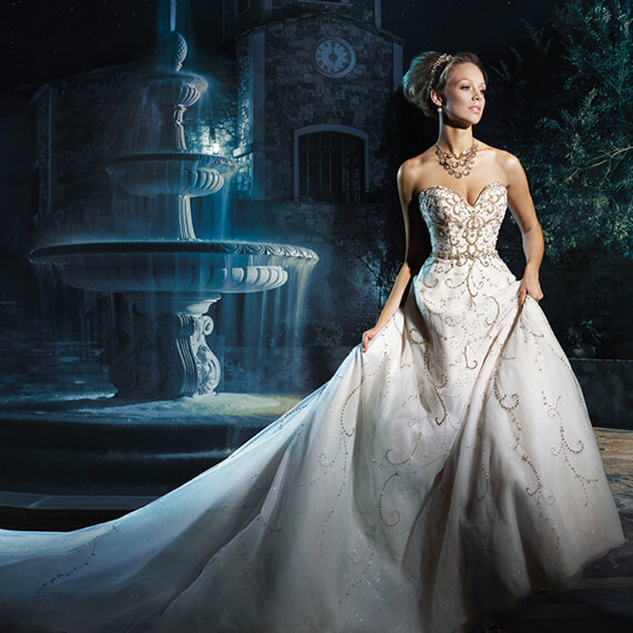 Disney Themed Wedding Dresses: PHOTOS: Wedding Wednesday
