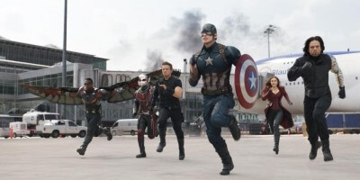 Sam Wilson in Captain America Civil War