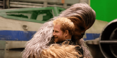 Prince Harry Chewbacca