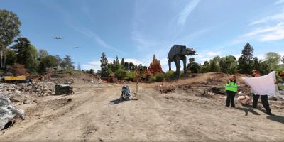 Star Wars Land 360 degree
