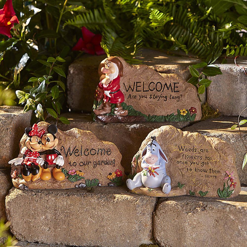 Disney Garden Rocks From Kmart Inside The Magic
