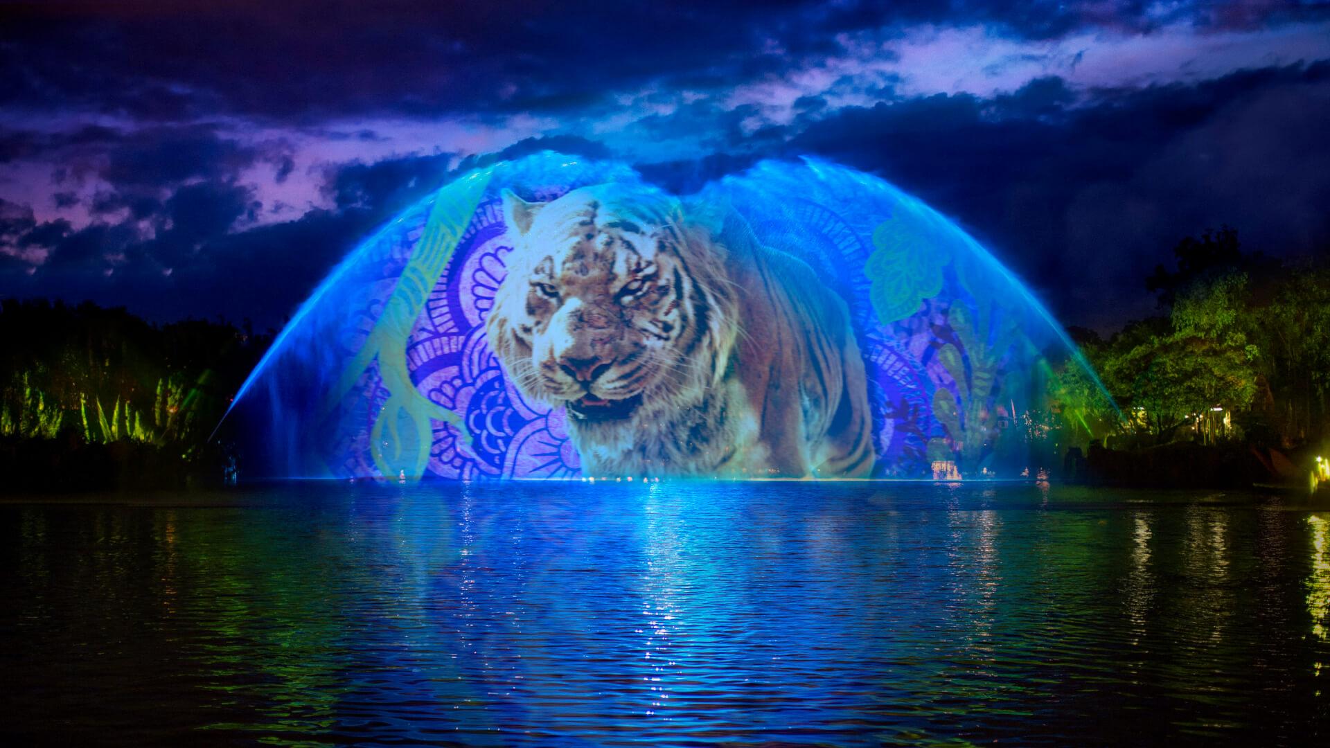 New Night Experiences At Disneys Animal Kingdom Kicking Off May 27 The Jungle Book Show Begins 28