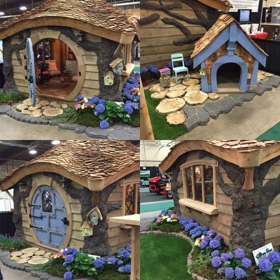 PHOTOS: Charmed Playhouses Inc. Creates The Fairy Tale