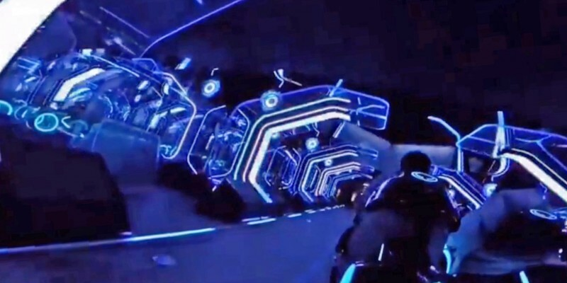 Video: How the TRON ride feels and Tomorrowland looks at Shanghai ...