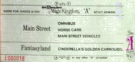 A ticket