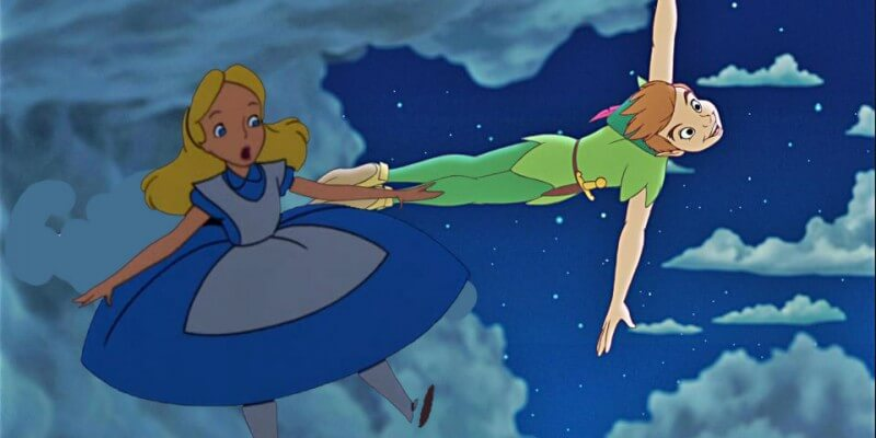 Alice+in+Wonderland+Peter+Pan