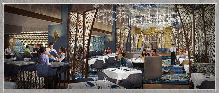 Flying fish restaurant at walt disney world 39 s boardwalk for Flying fish restaurant disney