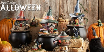 Snow-Village-Halloween
