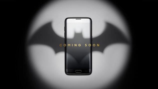Batman Samsung phone