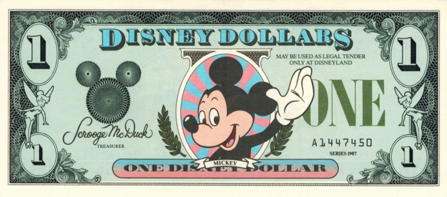 Disney Dollars to be officially discontinued at Disneyland and Walt Disney World | Inside the Magic