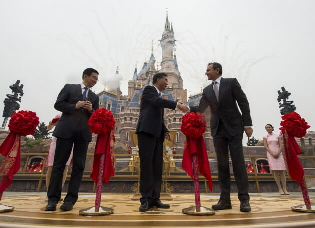Grand Opening of Shanghai Disney Resort
